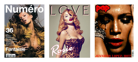 Lascivious magazine covers