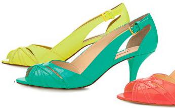 Arezzo verão sapatos