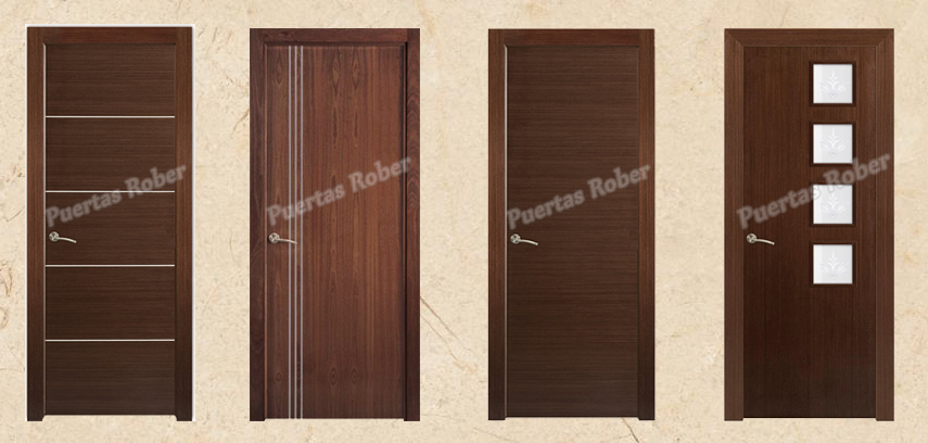 Puertas rober puertas modernas for Modelo de puertas para habitaciones modernas