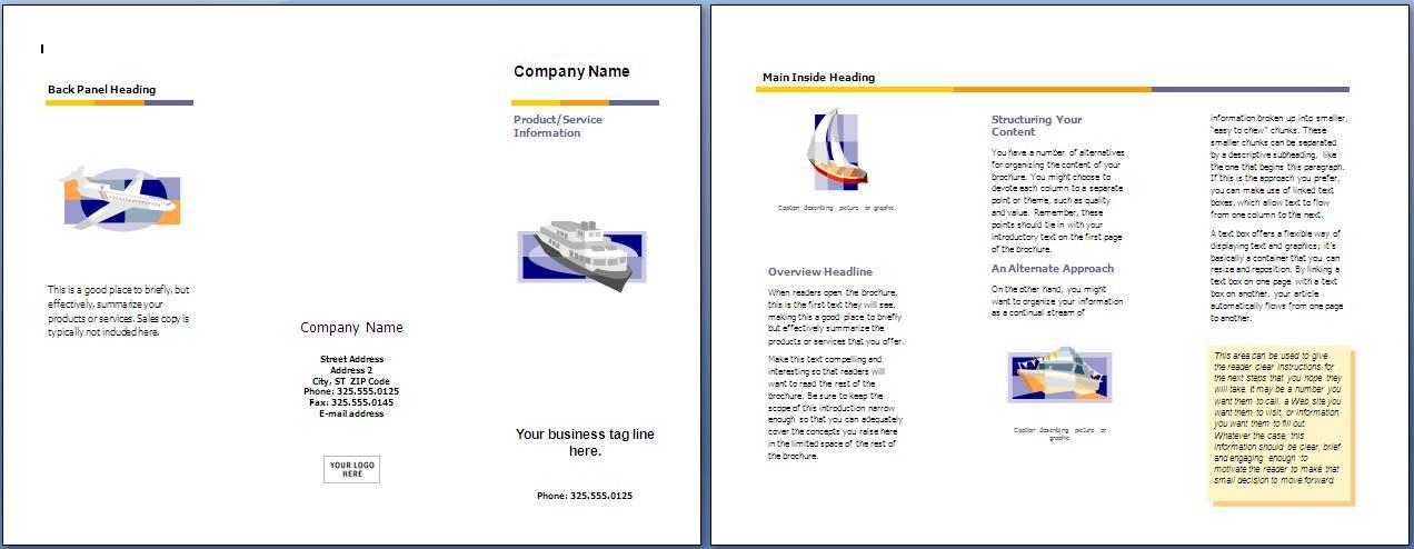 AJENG RPL123: Cara Membuat Brosur di Microsoft Word 2007