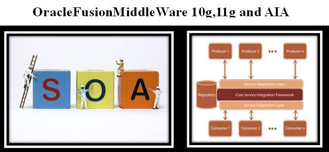OracleFusionMiddleWare 10g,11g and AIA