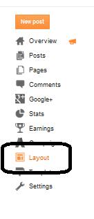 Layout Widget Berlangganan Via Email Di Blog