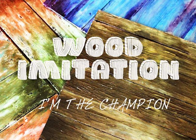 Я имитатор деревяшек
