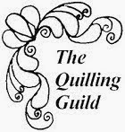 I`M A MEMBER, AND FIRST CHILEAN ACCREDITED  BY: QUILLING GUILD