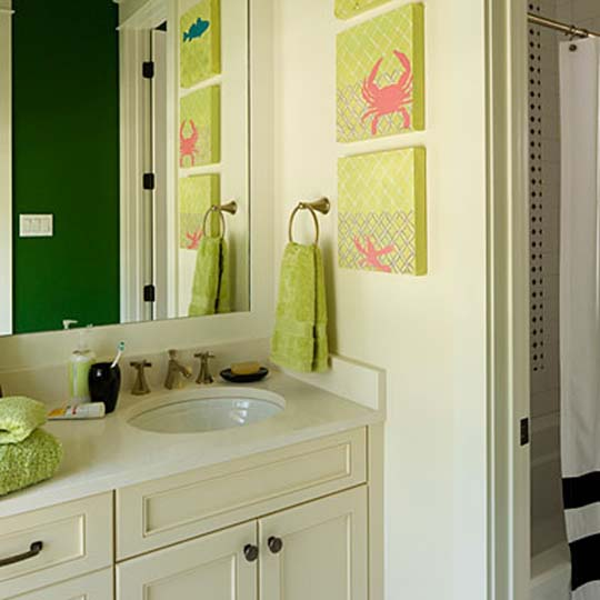 Creative small bathroom ideas for kids for Creative bathroom ideas