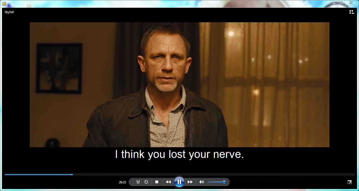 Play mp4 Videos with subtitles in Windows Media Player 12