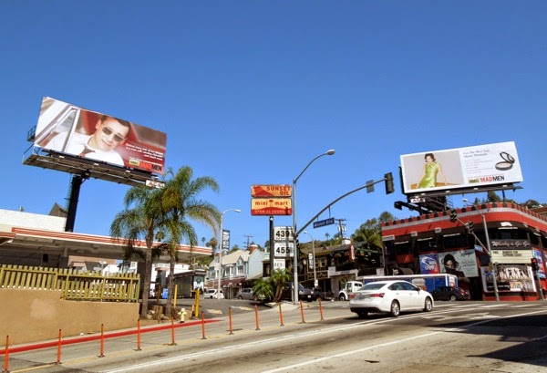 Mad Men vintage style 2014 Emmy billboards