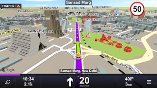 download aplikasi play store GPS Navigation & Maps Sygic