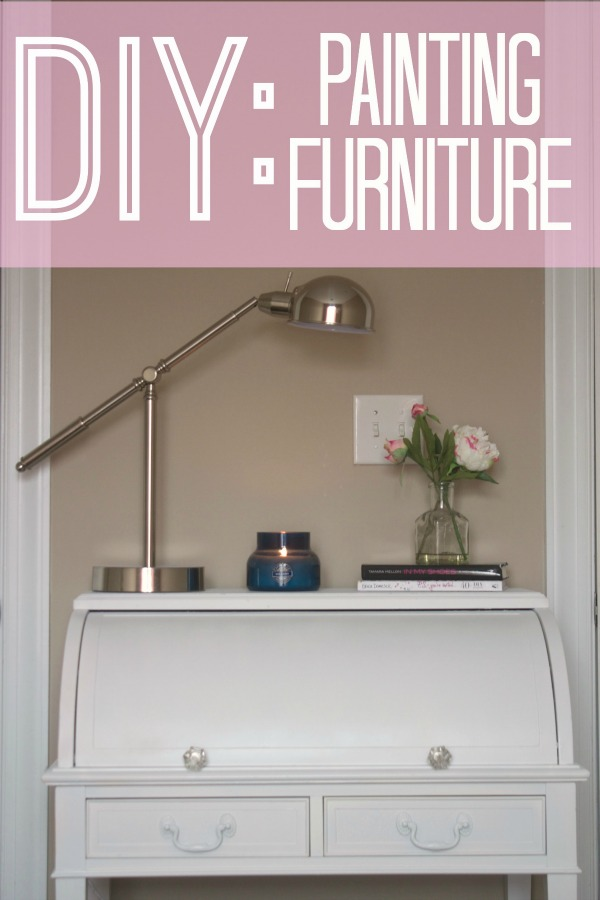 The Monogrammed Life DIY Furniture Painting