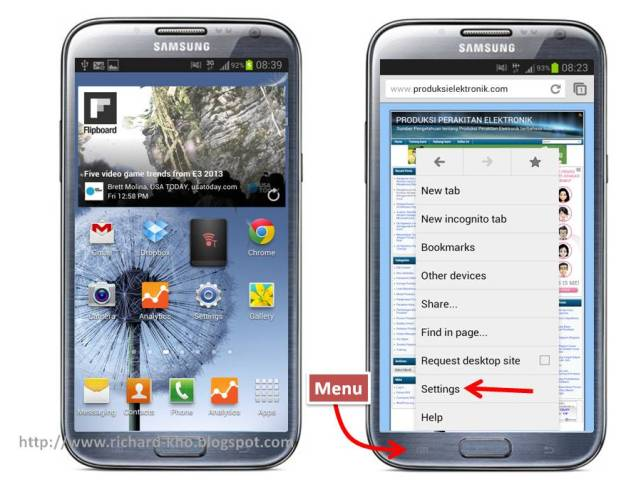 Android: Cara Clear (Hapus) Cache dan Cookies Browser