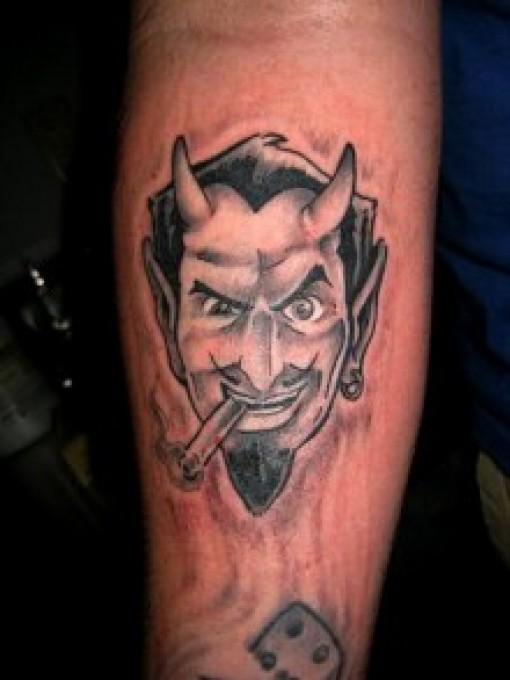 Devil tattoos for women 2011 for Satanic tattoo designs
