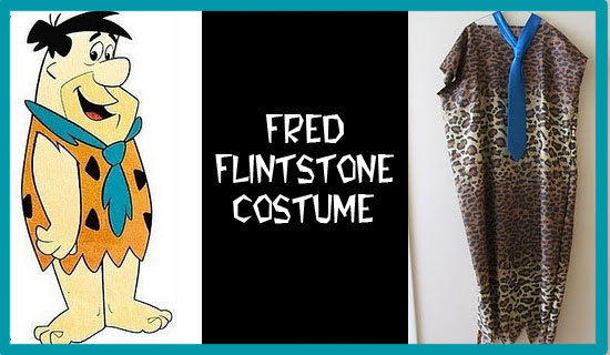 DIY flintstones costume