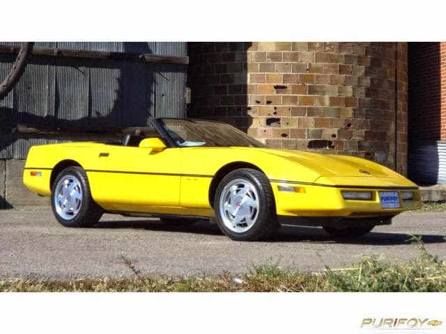 1988 Chevrolet Corvette at Purifoy Chevrolet