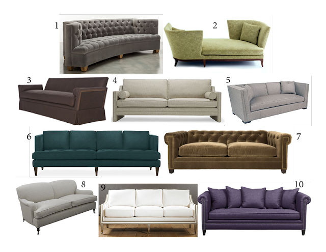 SHED THE LOVE Tunies Top 10 Sofas