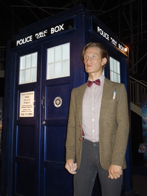 Matt Smith 11th Doctor Who waxwork costume
