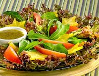 Salada ao Molho Agridoce (vegana)