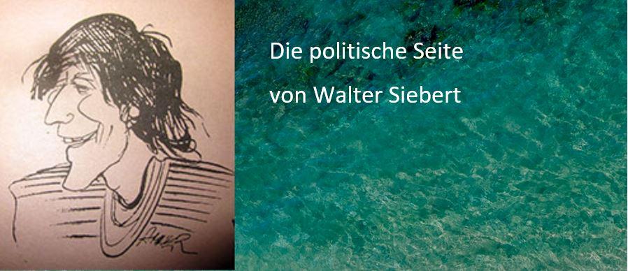 Die politische Seite von Walter Siebert