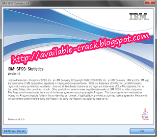 Download Free IBM SPSS 19 Full Crack