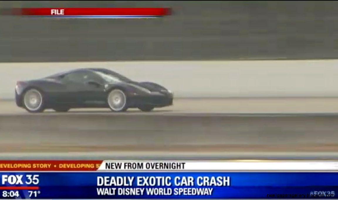 Man dies in car crash at Exotic Driving Experience at Disney