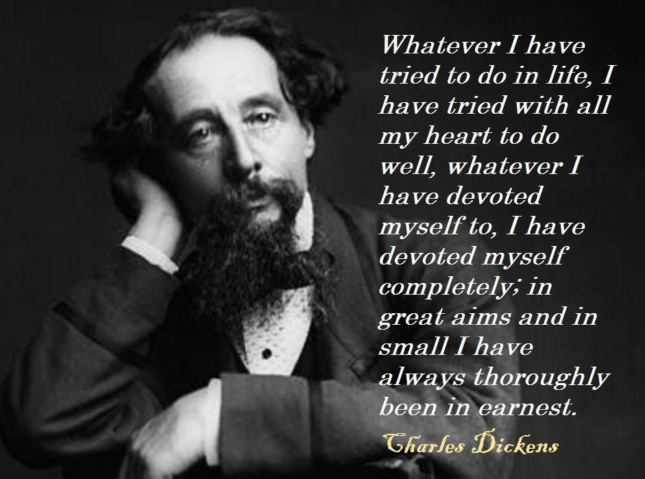 Beautiful Happy Birthday, Charles Dickens! (1812