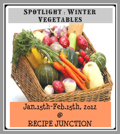 All new cooking recipes ongoing event spotlight winter vegetable so a humble request to all my readers followers and blogger buddies from me please share as many recipes you can with her forumfinder Choice Image