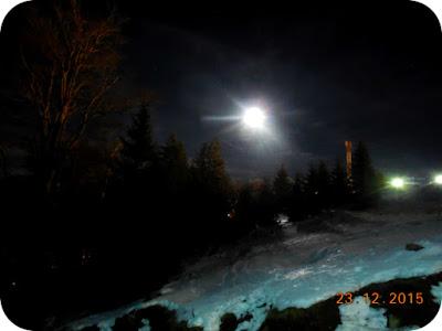 luna pe Platoul Soarelui