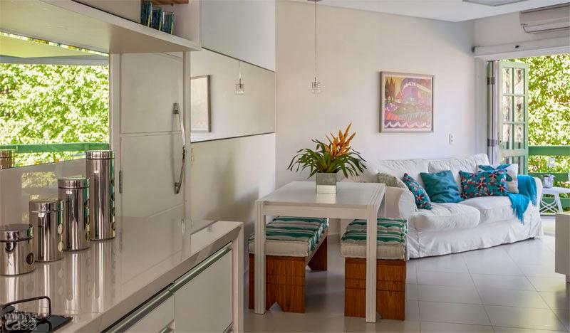decoracao kitnet praia:Achados de Decoração – blog de decoração e bem viver: ANTES E