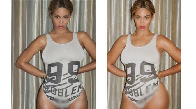 Mengintip Tubuh Seksi Beyonce Di Balik Baju Renang