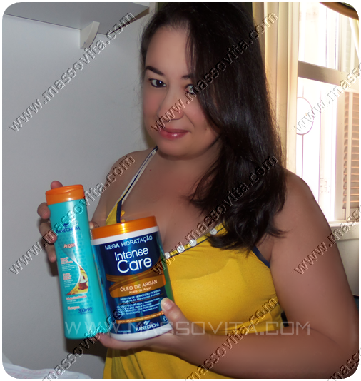 Shampoo e Máscara Kanechom