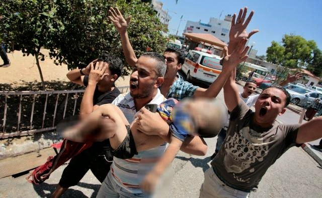 Serangan Rudal Israel Menambah Jumlah Korban Di Jalur Gaza