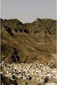Dans le cratère de Aden.