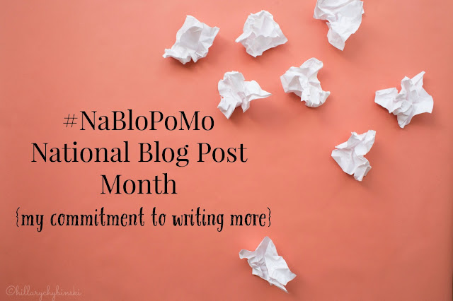 #NaBloPoMo - National Blog Post Month