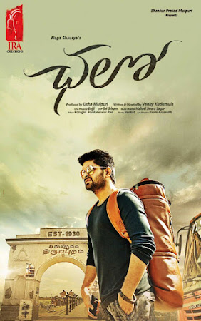 Poster Of Chalo In Dual Audio Hindi Telugu 300MB Compressed Small Size Pc Movie Free Download Only At likesgag.co.uk