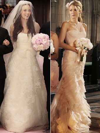 All in Fashion: Serena van der Woodsen\'s Bridesmaid Dress