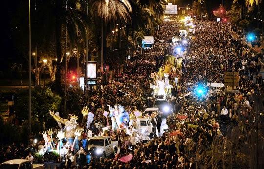 Défilé des Rois mages en Espagne