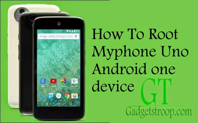 unlock bootloader,install recovery and Root Myphone Uno androidone