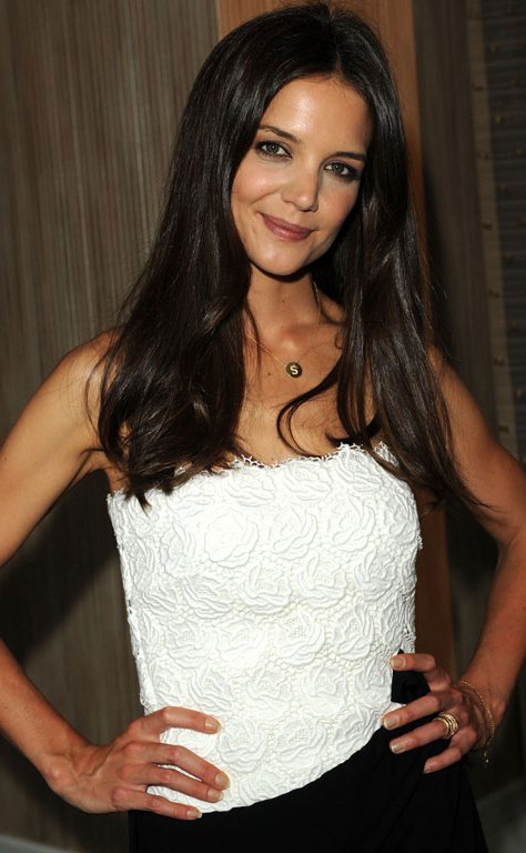 Katie Holmes at the Women in Film Crystal + Lucy Awards Katie Holmes