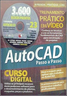 Curso AutoCad Vídeo-Aula - Torrent download passo a passo digerati Mais 3600 blocos