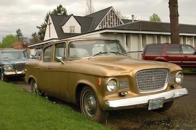 1960 Studebaker Lark VIII sedan.