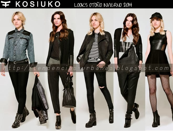 KOSIUKO  OTOÑO INVIERNO 2014LOOKBOOK