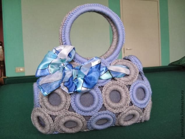 Handbag of the rings for curtains
