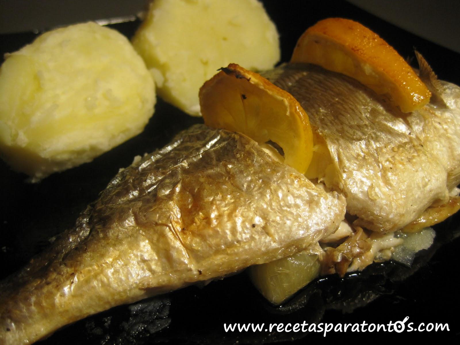 Recetas para cocinar pescado dorado al horno for Cocinar gambas al horno