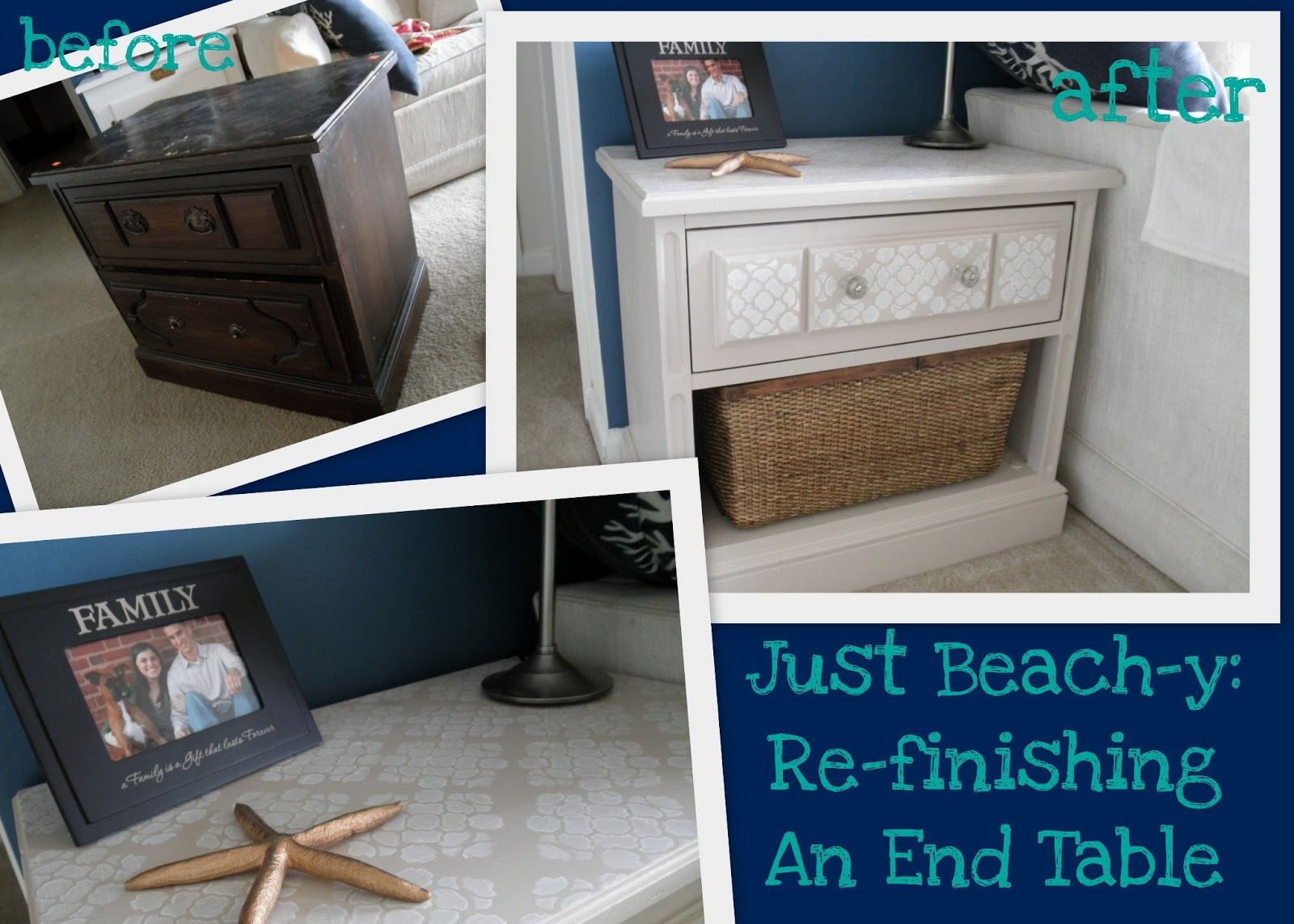 Attirant This Whole End Table Project Actually Happened Kind Of On Accident  Wednesday As I Headed To The Grocery Store. A Thrift Store I Typically  Drive Past Had A ...