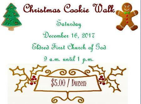 12-16 Christmas Cookie Walk