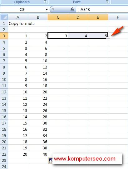 paste formula