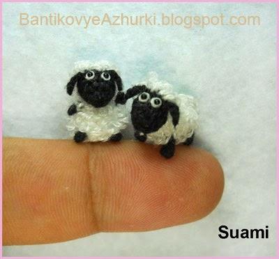 вязанная овечка