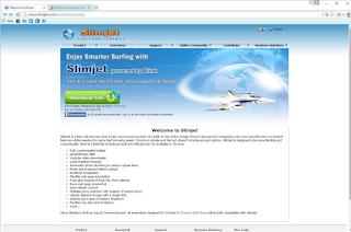 Download Portabel Slimjet  Stable Release 5.0.8.0
