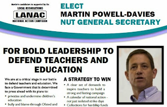 Download my leaflet for the NUT General Secretary Campaign