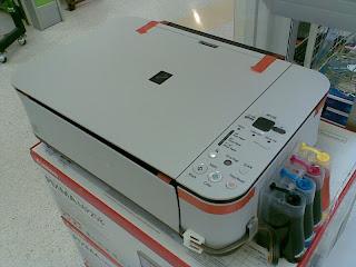 Printer murah Canon MP258 all in one, dengan tank atau CISS