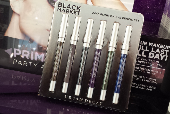 Urban Decay 24/7 Eyeliner Pencils Sets Black Market Photos Indian darker skin makeup beauty blog